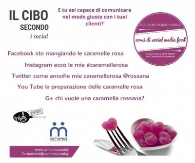 Corsi Food Social presso La Chef Mobile