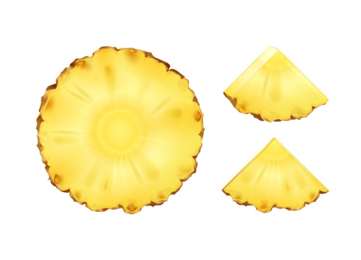 ananas carpaccio